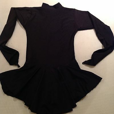 Tappers And Pointers Ice Skater Dress Black - Excellent