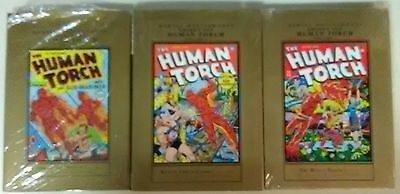 Marvel Masterworks Golden Age Human Torch Volume 1, 2, and 3! First Prints!