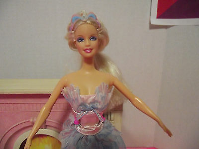 Barbie doll as the swan lake queen