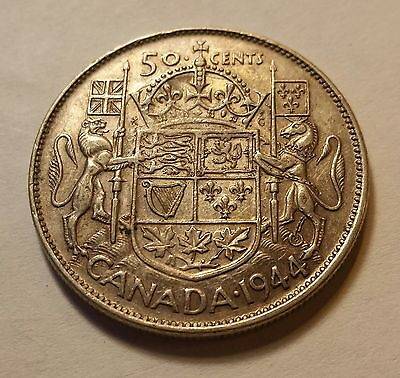 1944 Canada 50 cents