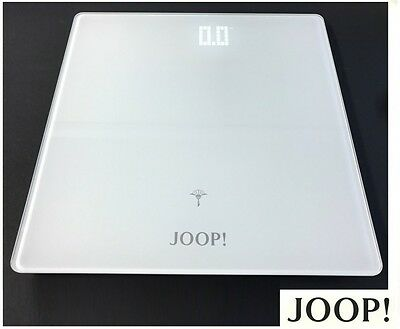 Joop! 010891310 Lifestyle Personenwaage Glaswaage Badwaage Led Digital Weiss