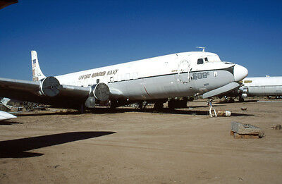 Douglas C-118 131608 yr 2002 E4499 35mm Aircraft Slide