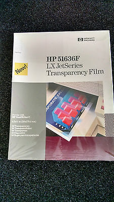2) Hp 51636F Lx Jetseries Transparency Film ( 50 )