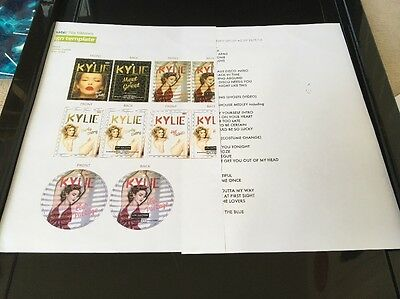Kylie Minogue Kiss Me Once Tour Crew Pass Information And Setlist