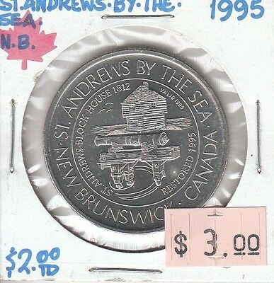 St. Andrews by the Sea New Brunswick Canada - Trade Dollar - 1995