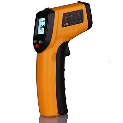 ANGGO IR Infrared Digital Temperature Gun Thermometer with Laser Point and LED B