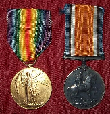 Canadian Ww1 War Medal Group 2 Medal Set Private D.s. Knox 3105582 Canada