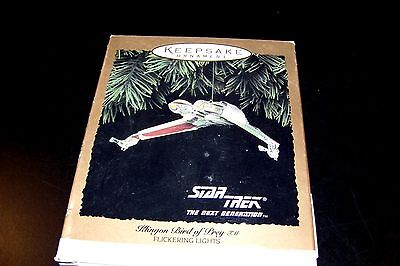 hallmark Keepsake Ornament Klingon Bird of Prey Star Trek The Next Generation