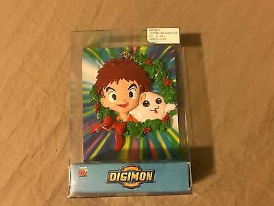 Digimon Christmas Ornament In Box Fox Kids Ranch Industries FAST FREE SHIPPING!