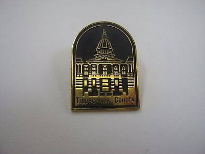 Vintage Collectible Pin: Tippecanoe Country Beautiful Design
