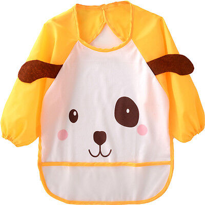 Kids/Children's Bib/Smock for Art, Craft, Painting, Drawing, Eating (Ages 0-2)
