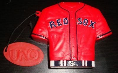BOSTON RED SOX Jersey Special Edition UNO Game * NEW * Baseball Champions RedSox