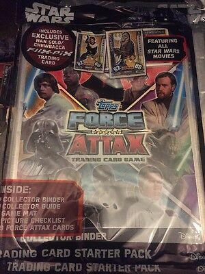 Star Wars Force Attax Universe  Sealed Binder