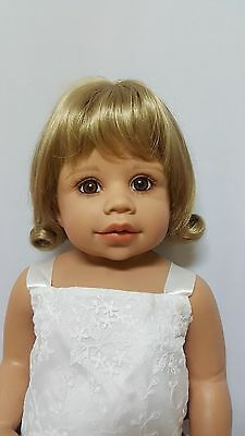 """NWT Monique Libby Blonde Doll Wig 16-17"""" fits Masterpiece Doll(WIG ONLY)"""
