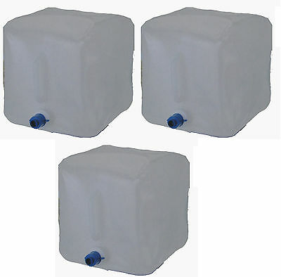 Water canister folding 3x 14 Litre 3er Set Water Tank Water Container Camping
