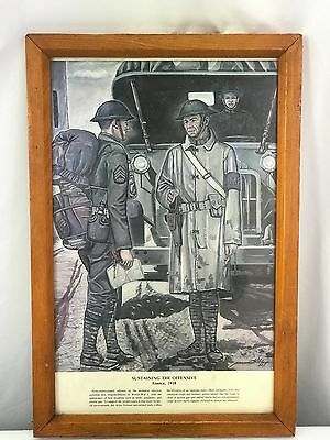 Sustaining The Offensive France 1918 Framed Print