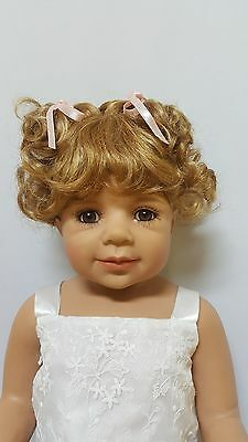 """NWT Monique Sammy Light Ginger Doll Wig 16-17"""" fits Masterpiece Doll(WIG ONLY)"""