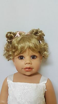 "NWT Monique Sammy Blonde Doll Wig 16-17"" fits Masterpiece Doll(WIG ONLY)"