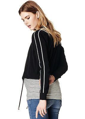 NEW - Supermom - Pleun Twin Stripe Cropped Jacket - Maternity Jacket