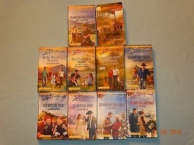 Love Inspired Inspirational Romance Book Lot of 10
