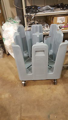Dish Cart Dolly Trolley BLUE COLOR PCD 11A Metro