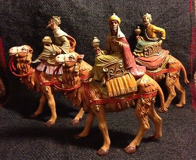Fontanini Three Kings On Camels Set 3-piece