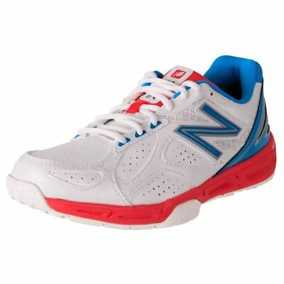 New Balance Women's Leather Wide Netball Shoe Court Sport Trainers 1100V2 Cheap