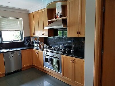 Custom Fully Laminate Timber Kitchen with appliances and benchtop