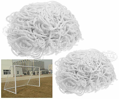 Football Soccer Outdoor Goal Post Nets For Sports Training Match Replacement Kid