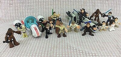 Star Wars Action Figure Lot! Hasbro Disney Galactic Heroes Kenner some VINTAGE