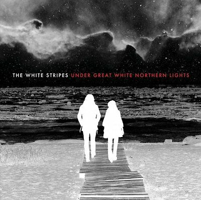 THE WHITE STRIPES Under Great White Northern Lights 2 x 180gm Vinyl LP 2010 NEW