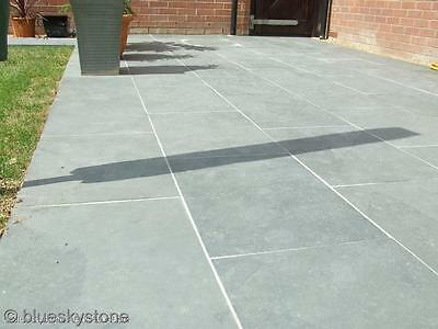 Grey Slate Paving Patio and Garden Tiles (not slabs) - £18/m2 inc del - 60x40cm