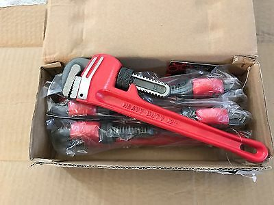 "JOB LOT! 300mm/12"" Heavy Duty Adjustable Plumbers Pipe Monkey Wrench (CHOOSE QTY"
