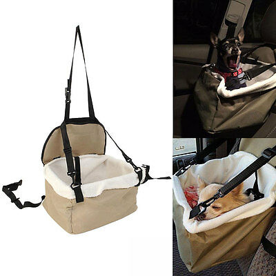Quality Pet Dog Puppy Cat Kitty Car Seat Carrier Car Auto Vehicle Leash