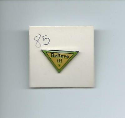 Publix Believe It!  Pin From 1985 New On Original Card