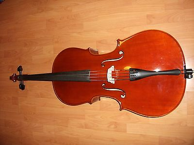 Cello 4/4 KG Model 80 with Hard Case.