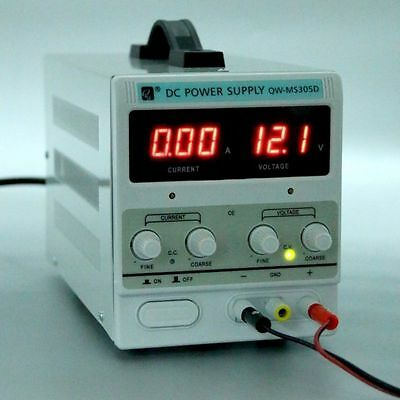 Variable High Quality Adjustable Lab DC Bench Power Supply 0-30V-0-5A