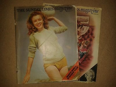 The Sunday Times Magazine(s), MARILYN MONROE by Norman Mailer (Prt 1 & 2)