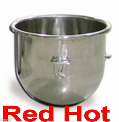 New Omcan 20 Qt. Stainless Steel Mixing Mixer Bowl Fits Hobart Mixer 23509