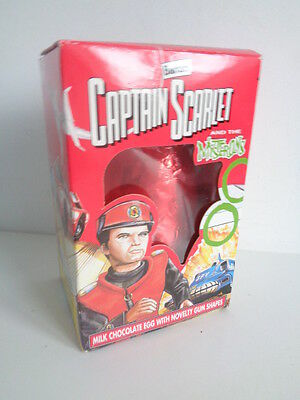 *rare* Vintage 1994 Collectable Captain Scarlet Chocolate Easter Egg