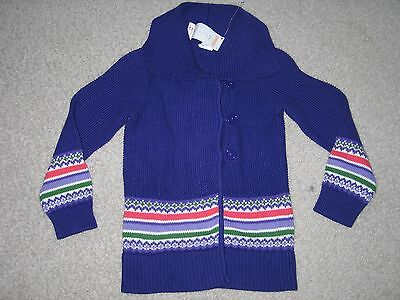 Girls Size Small 5 6 Gymboree Purple FALLING FOR FEATHERS Cardigan Sweater NWT
