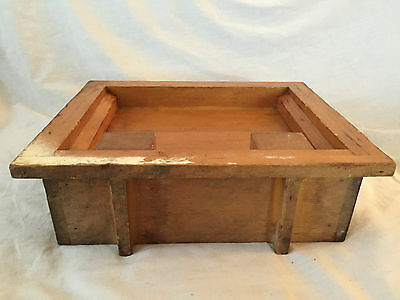 Vintage WOODEN INDUSTRIAL Mold Pattern GARWOOD 4004341-A PIPE Steampunk Foundry