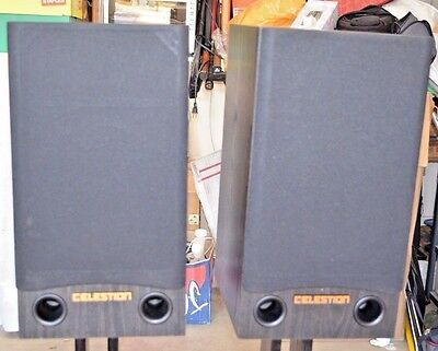 Rare Celestion Impact 20 Large Bookshelf Speakers