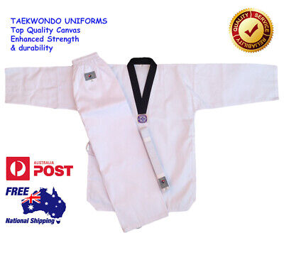 New Karate Uniform Martial Arts High Quality Gi 100% Cotton Easy Fit