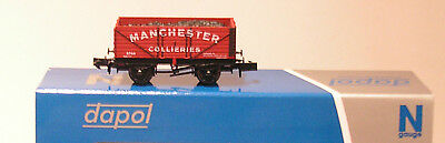 Dapol 7 Plank Wagon Manchester Collieries Special Limited Edition N Gauge