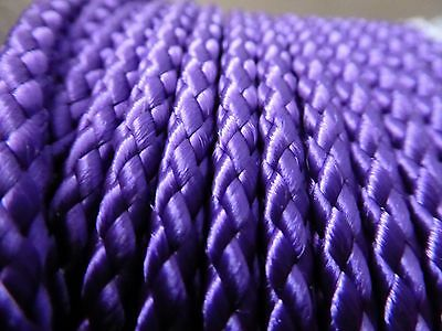 "3/16""  Diamond Braid MFP rope 1000 ft. spool. Purple. Made in the USA"