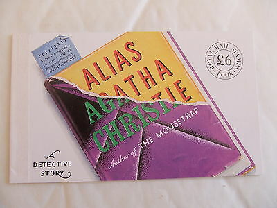 GREAT BRITAIN PRESTIGE BOOK - DX12 -  1991 £6 Alias Agatha Christie