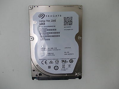 Seagate Laptop Thin SSHD 500GB Internal Hard drive W7679H3T (ST500LM000)