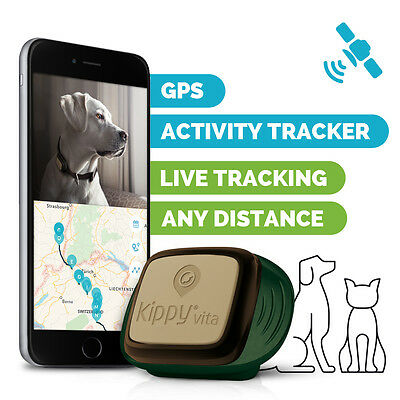 Kippy VITA GPS tracker Activity monitor per animali, cani, gatti. Camo Sentinel