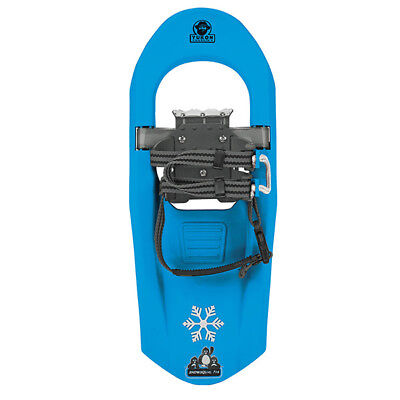 Yukon Charlie's Junior Molded Series Snowshoe-For kids upto 100lbs-Light Blue